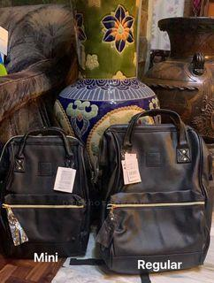 Anello mini and regular size backpack
