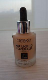 Catrice HD Liquid Coverage Foundation (020-Rose Beige)