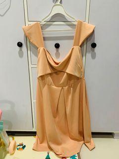 dijual dress scuba ukuran L-XL