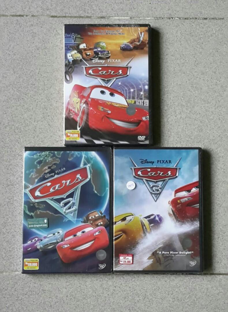 Dvd Cars Trilogy.
