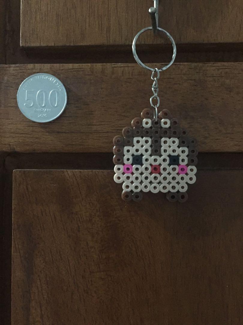 Gantungan Kunci Hama Beads 5mm - Chip