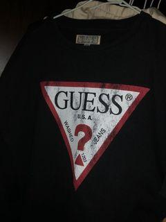 Guess 刷舊短袖