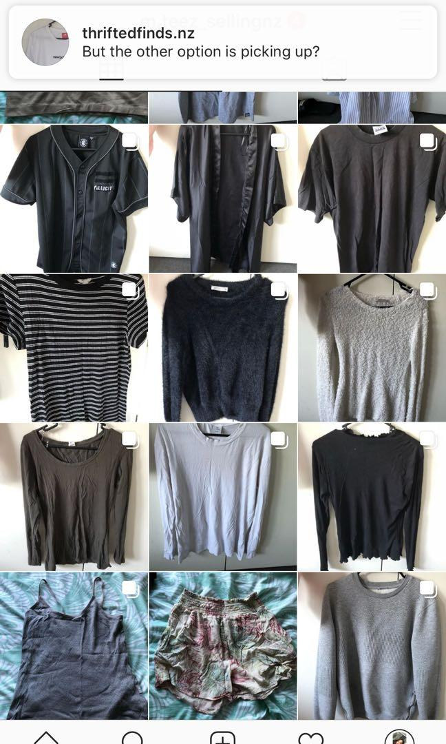 HEAPS OF CLOTHING FOE SALE FROM BRANDED AND NOT
