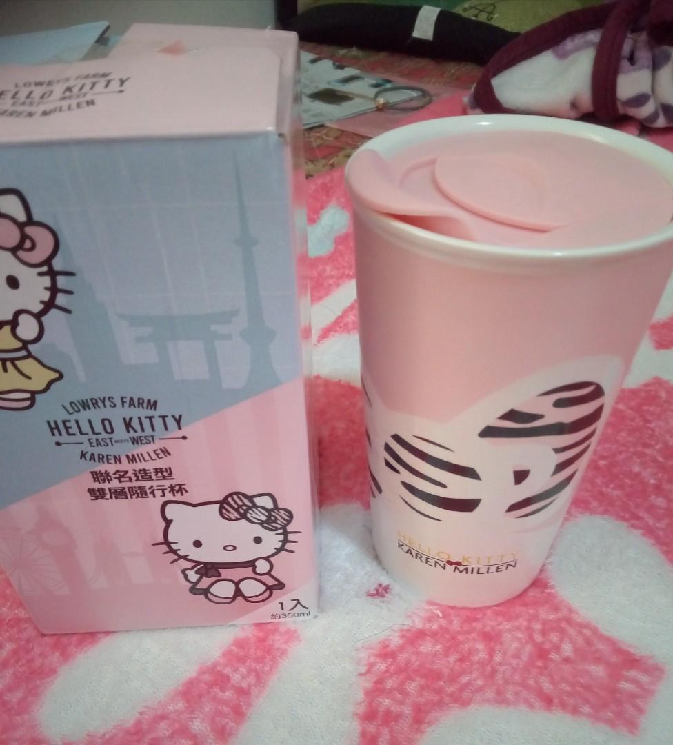 Hello Kitty杯—蝴蝶結杯$250/全新