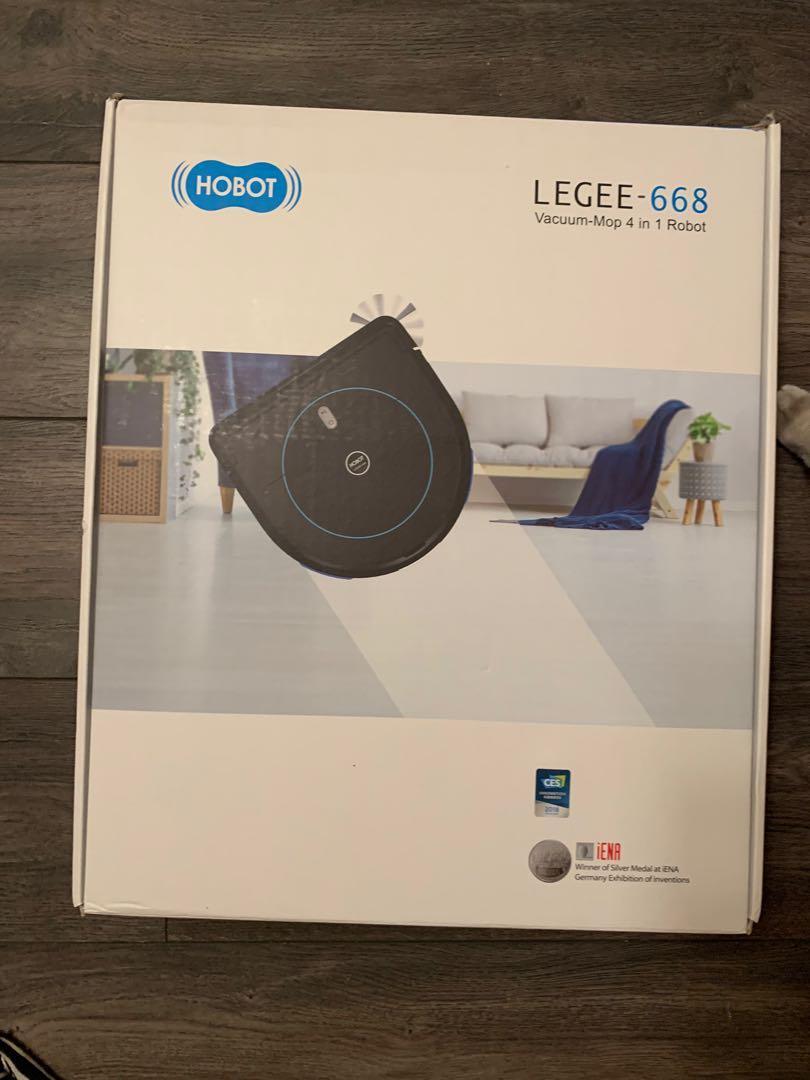 LEGEE 668 Vacuum Mop 4 in 1 Robot