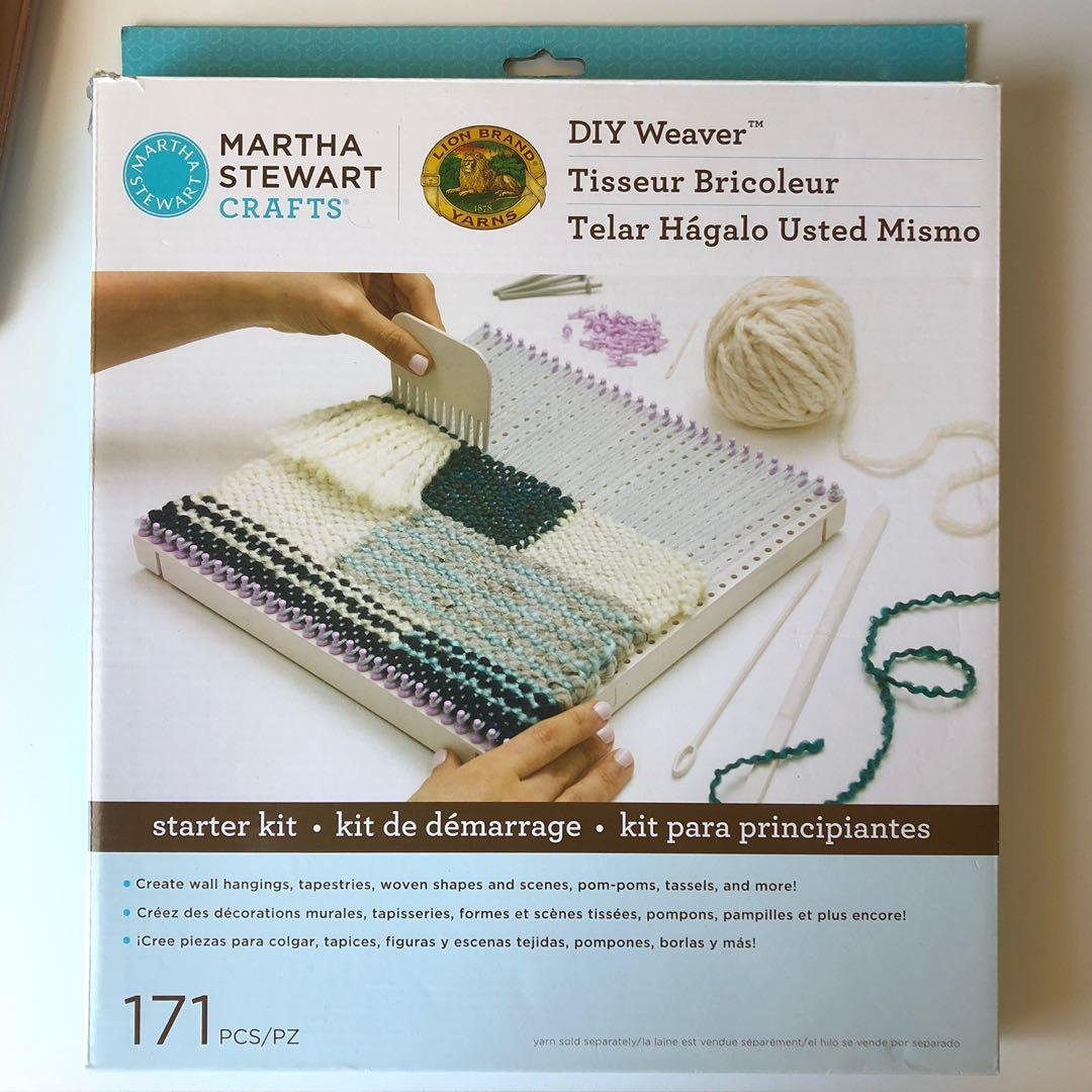 Martha Stewart Crafts DIY Weaver