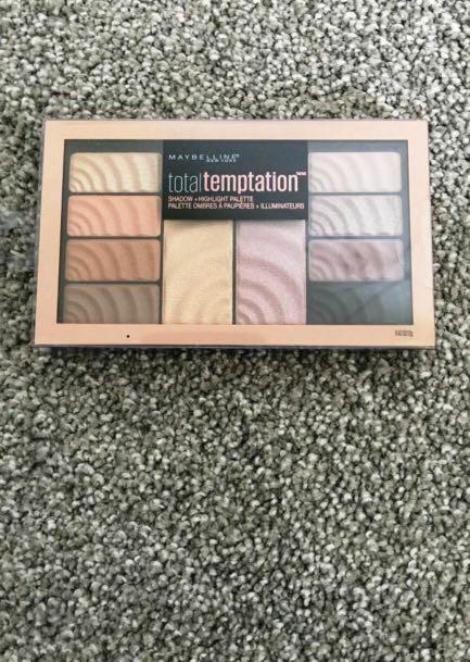 Maybelline Total Temptation Shadow + Highlight Palette 12g