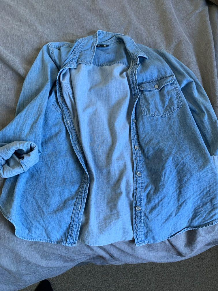 Medium Blue Overshirt