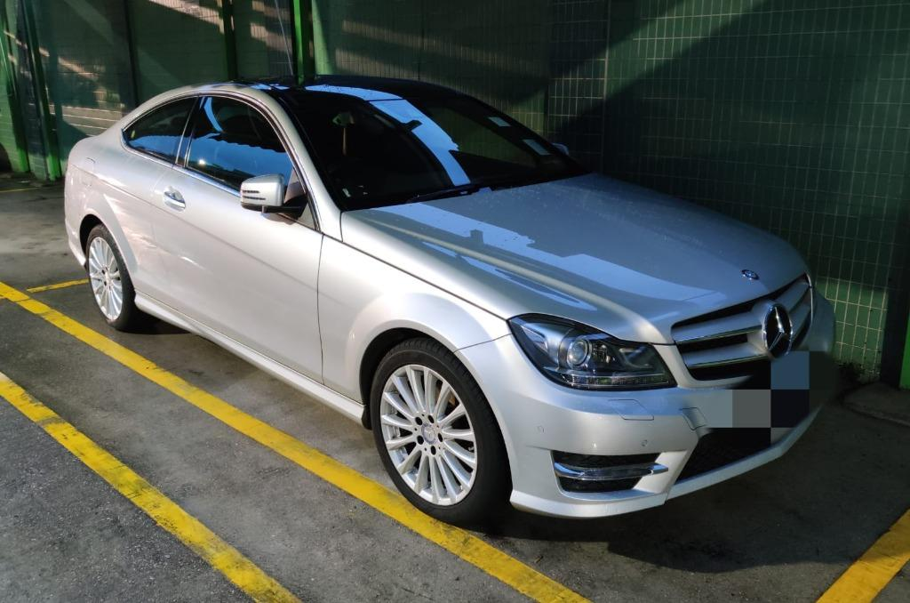 Mercedes-Benz C250 COUPE Auto