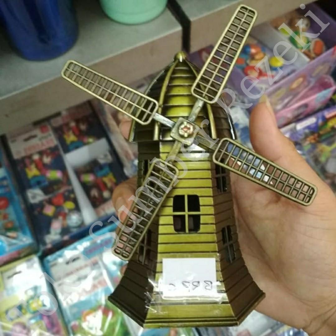Miniatur Tower Kincir Angin Menara Belanda Miniature Hiasan Meja Tamu