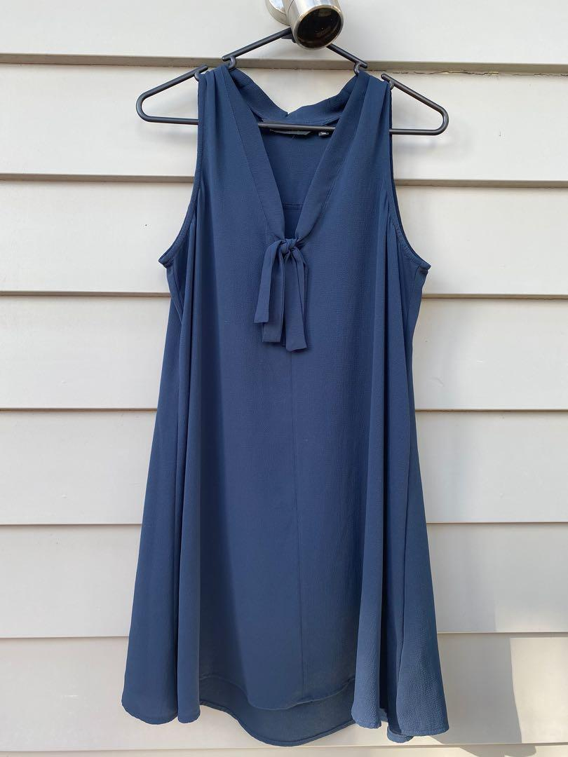 Navy blue Glassons dress