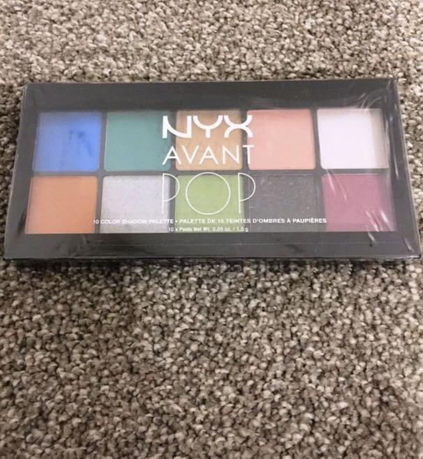NYX Avant Pop Eye Shadow Palette APSP01 Art Throb 1.5g