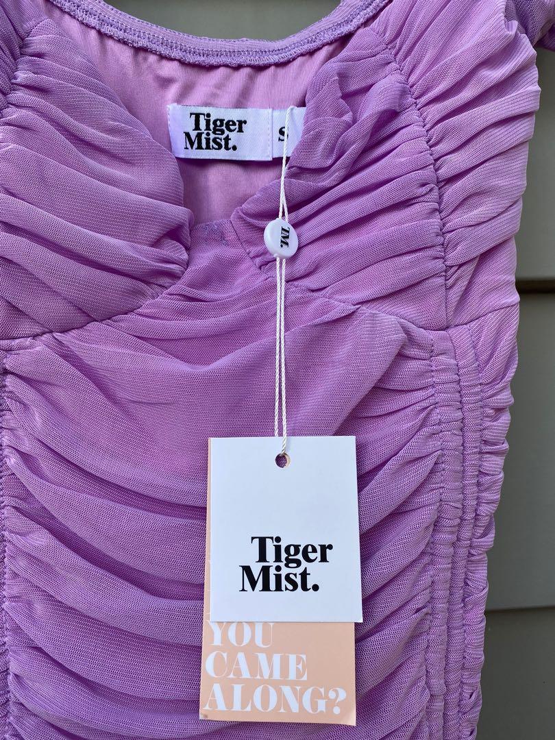 Purple tiger mist dress