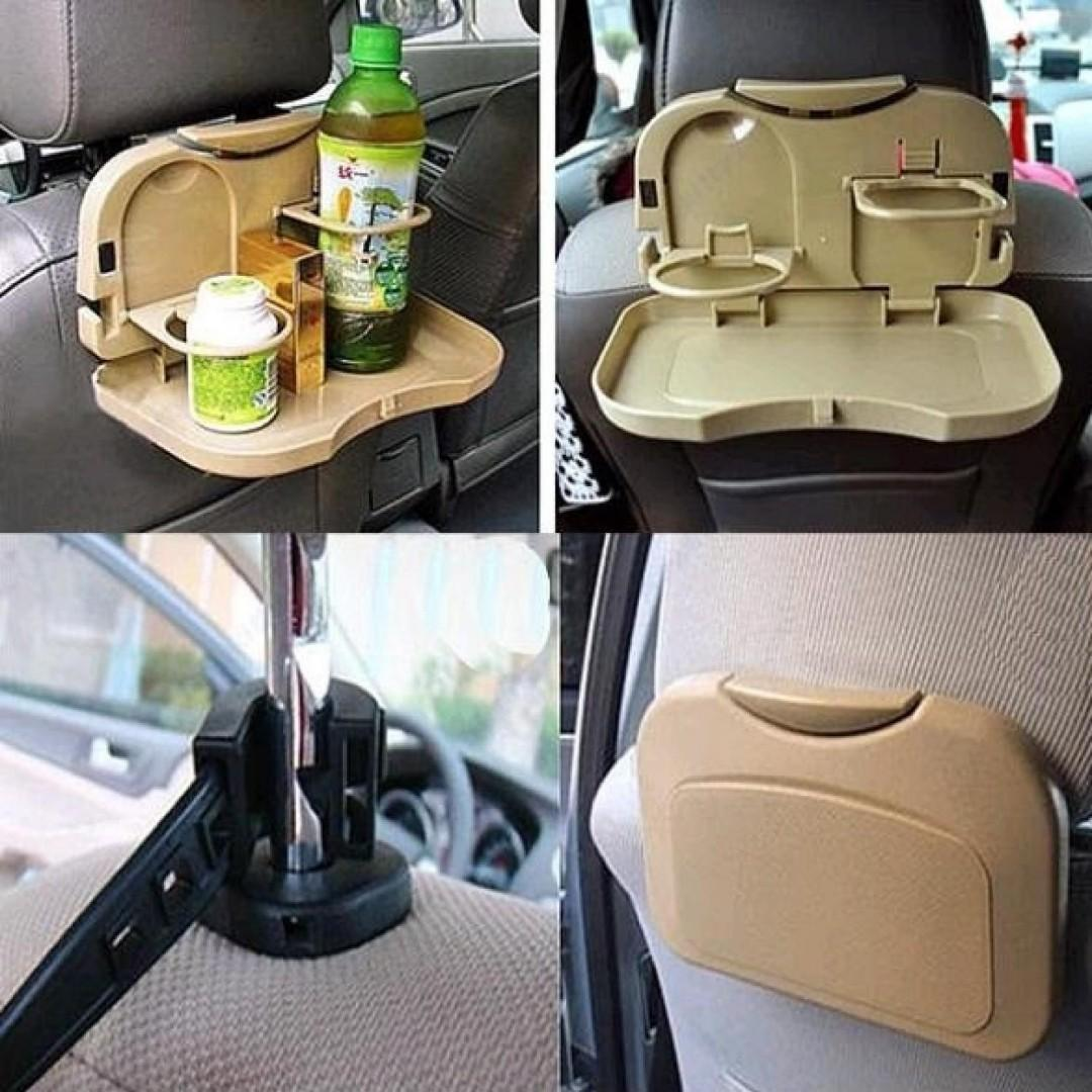 BISA COD Seat Back Car Multifunction Foldable Meal Table