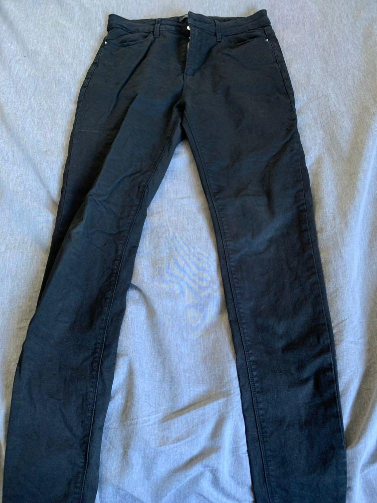 Size 10 Black High Rise Skinny Jeans