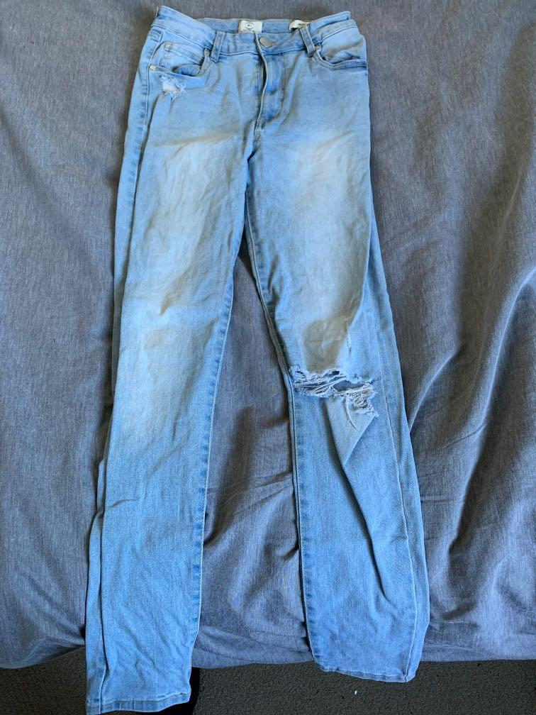 Size 10 High Rise Skinny Jeans