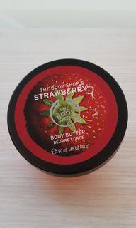 The Body Shop Body Butter Strawberry 50ml
