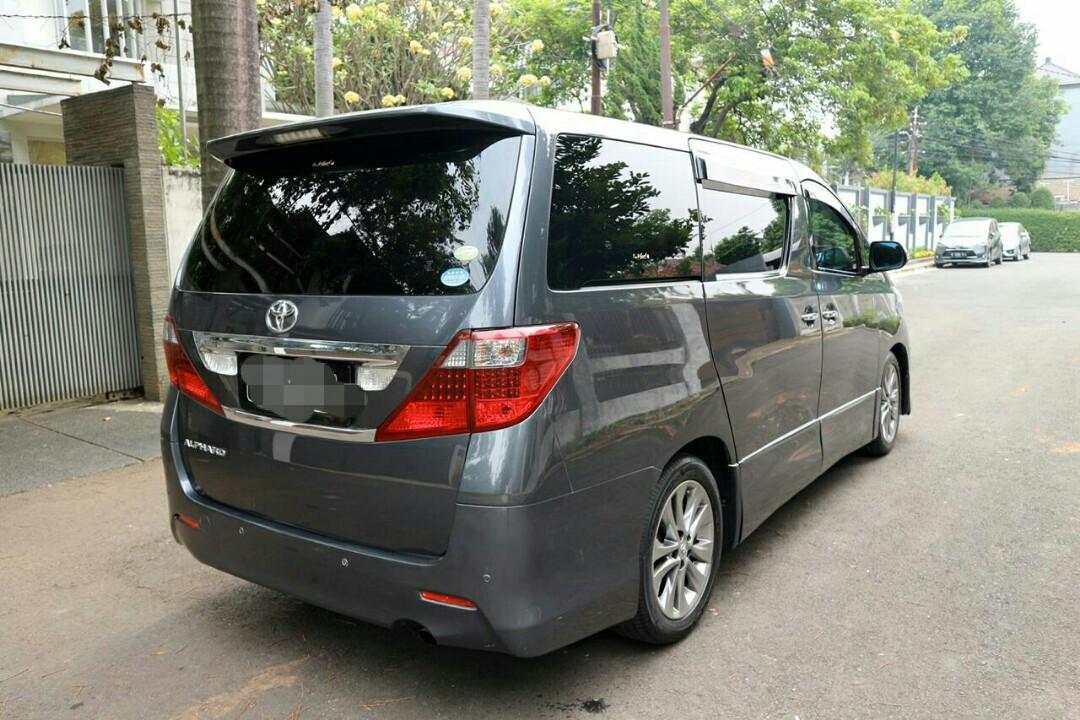 Toyota alphard S Premium