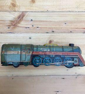 Vintage Tin Toy Train