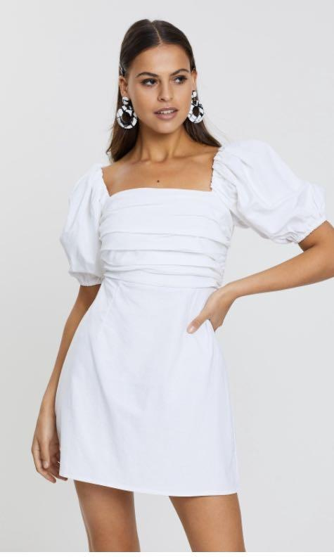 Size 8 White dress (Brand new, Only tried on)