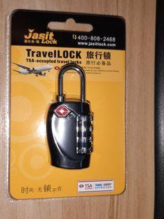 4 digit TSA lock