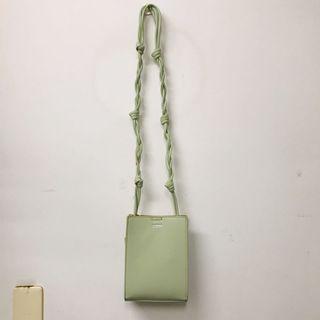 草綠色肩背斜背包