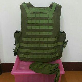 新品 生存遊戲 防彈防護背心 戰術背心
