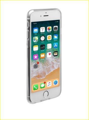 Apple iPhone 6/6S/7/8 Transparent Phone Case (Clear)