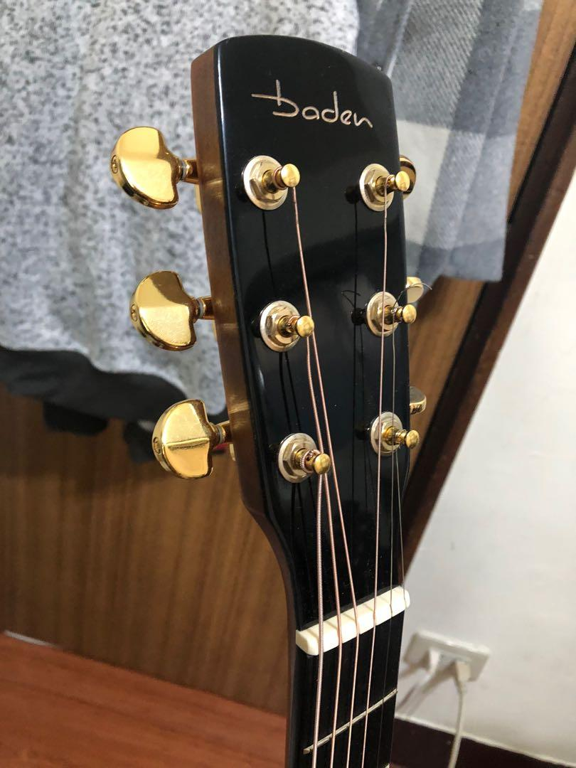 Baden 全單木吉他