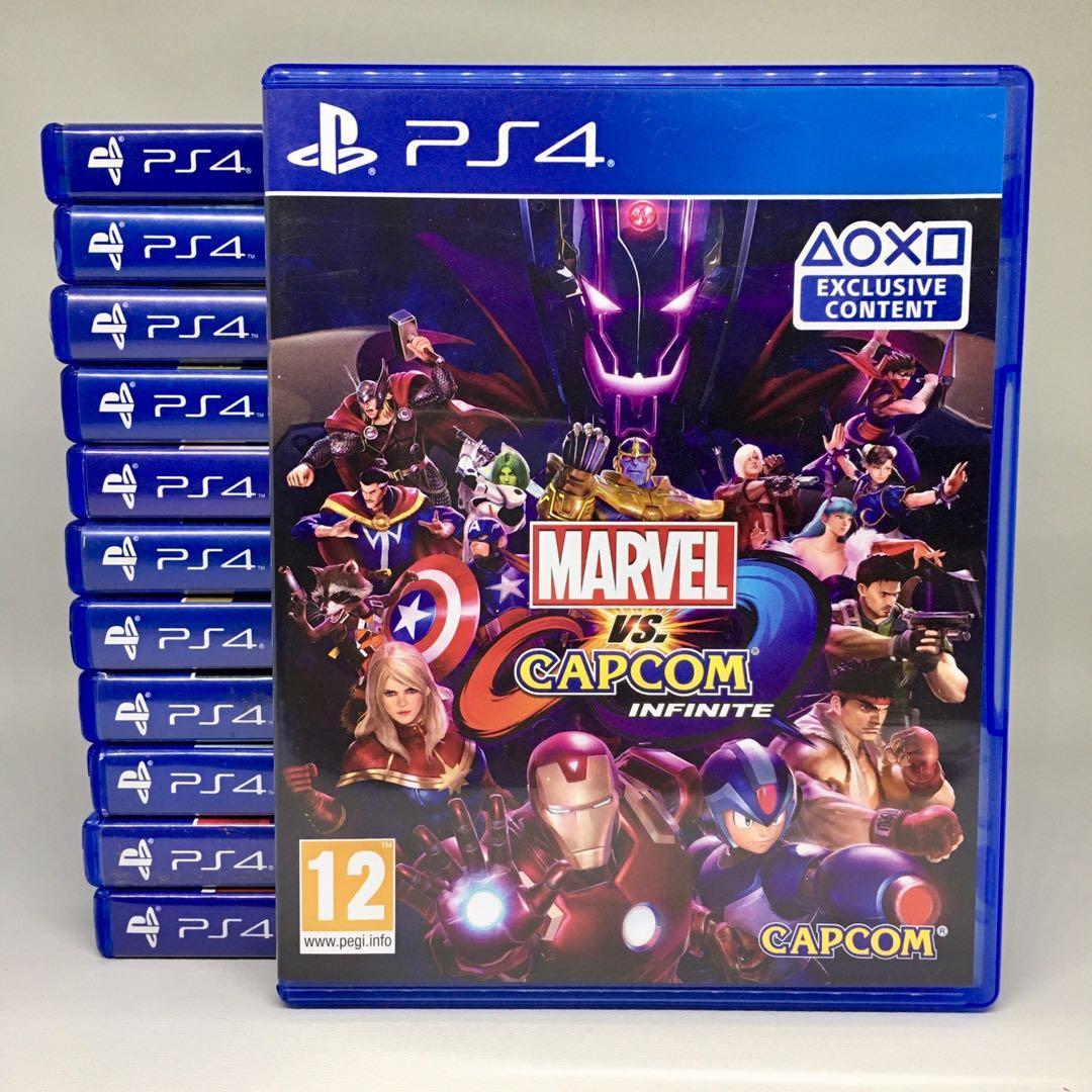 (BD PS4) Kaset CD Game Marvel vs Capcom: Infinite
