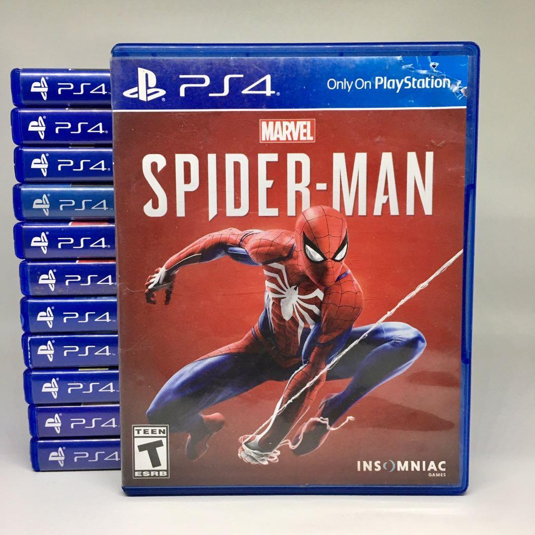 (BD PS4) Kaset CD Game Marvel's Spiderman