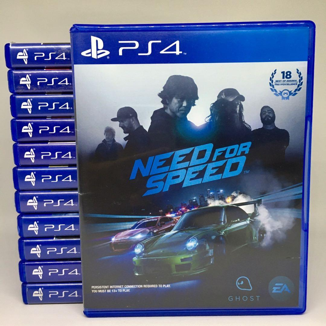 (BD PS4) Kaset CD Game Need for Speed