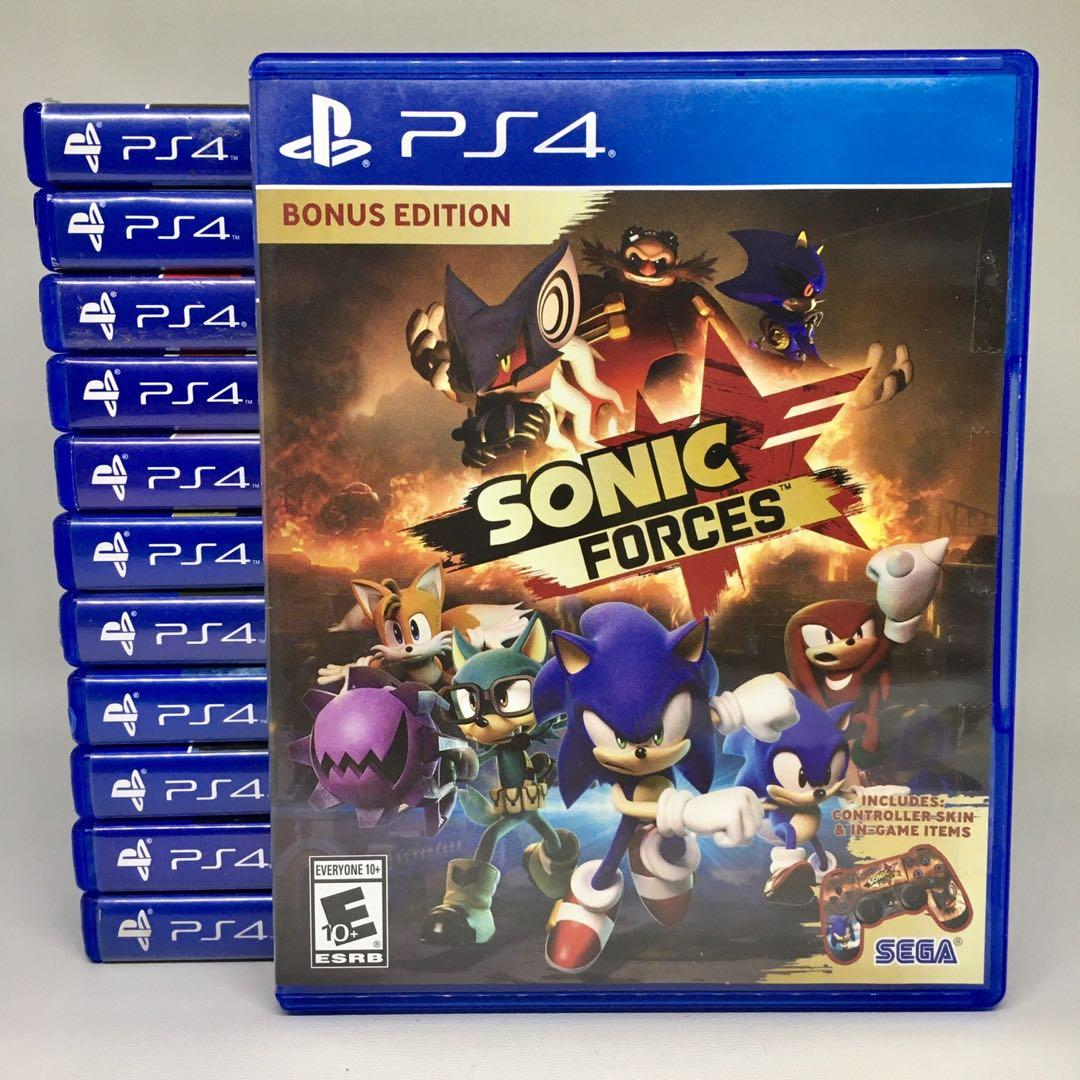 (BD PS4) Kaset CD Game Sonic Forces