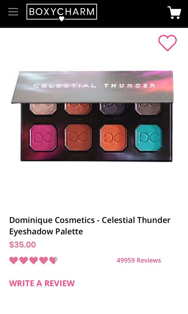 Celestial Thunder eyeshadow palette