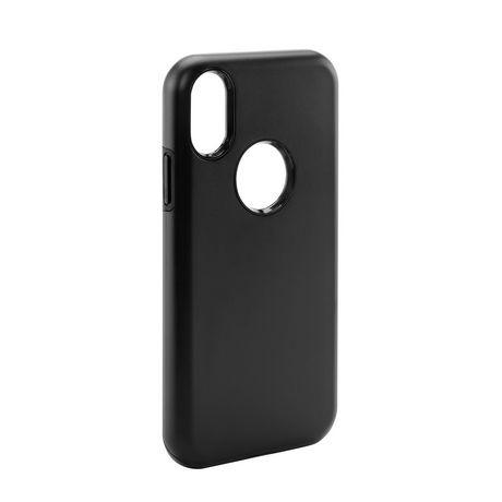 Dual Layer Apple iPhone X/XS Phone Case (Black)