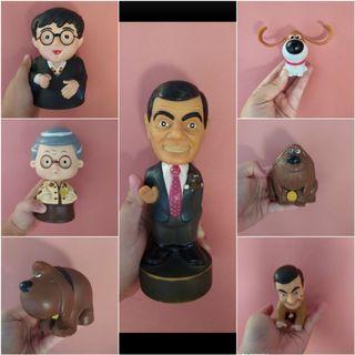 Figur Harry Potter, mr.bean, borongan
