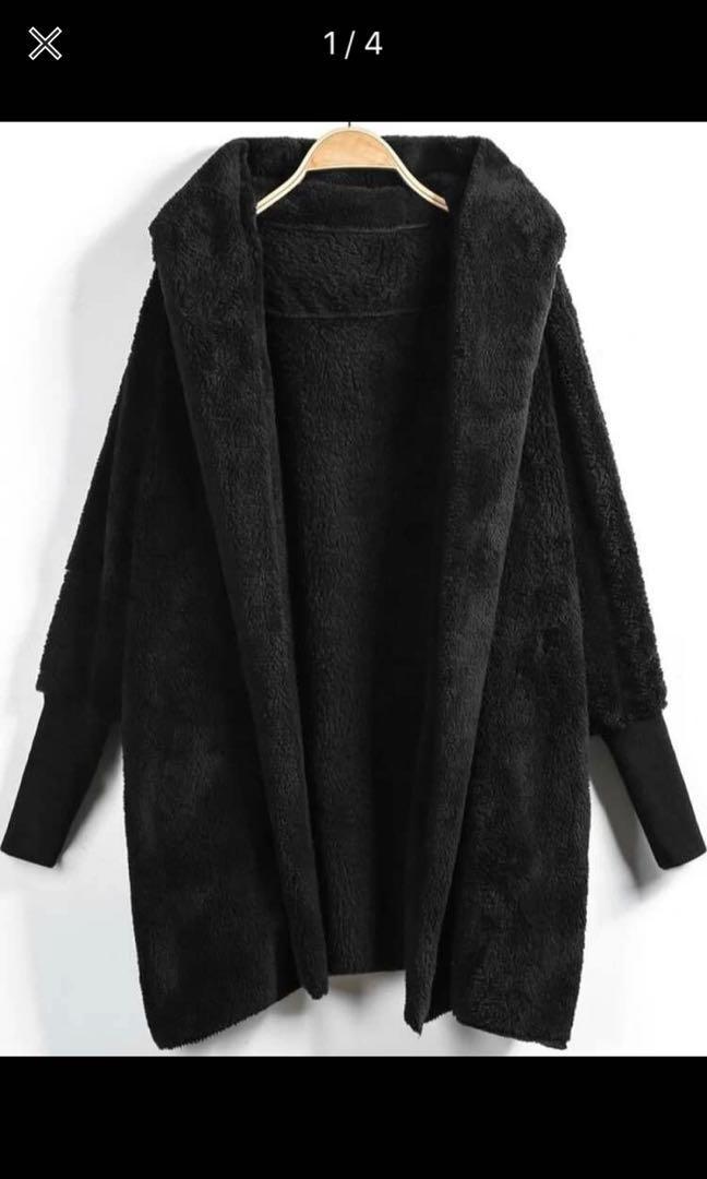 Fuzzy cardigan