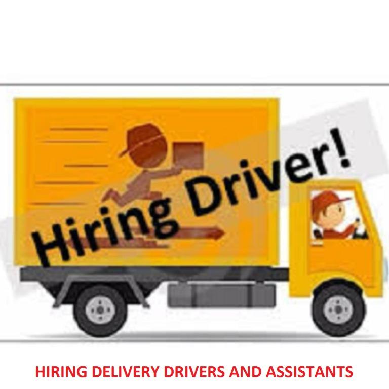 HIRING DELIVERY DRIVER/ASSISTANT