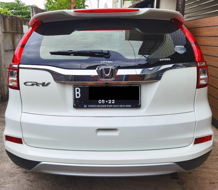 Honda CrV Cr-V 2.4 AT RM3 2017 / 2018 Pajak 1Thn Putih BAGUS,TERAWAT