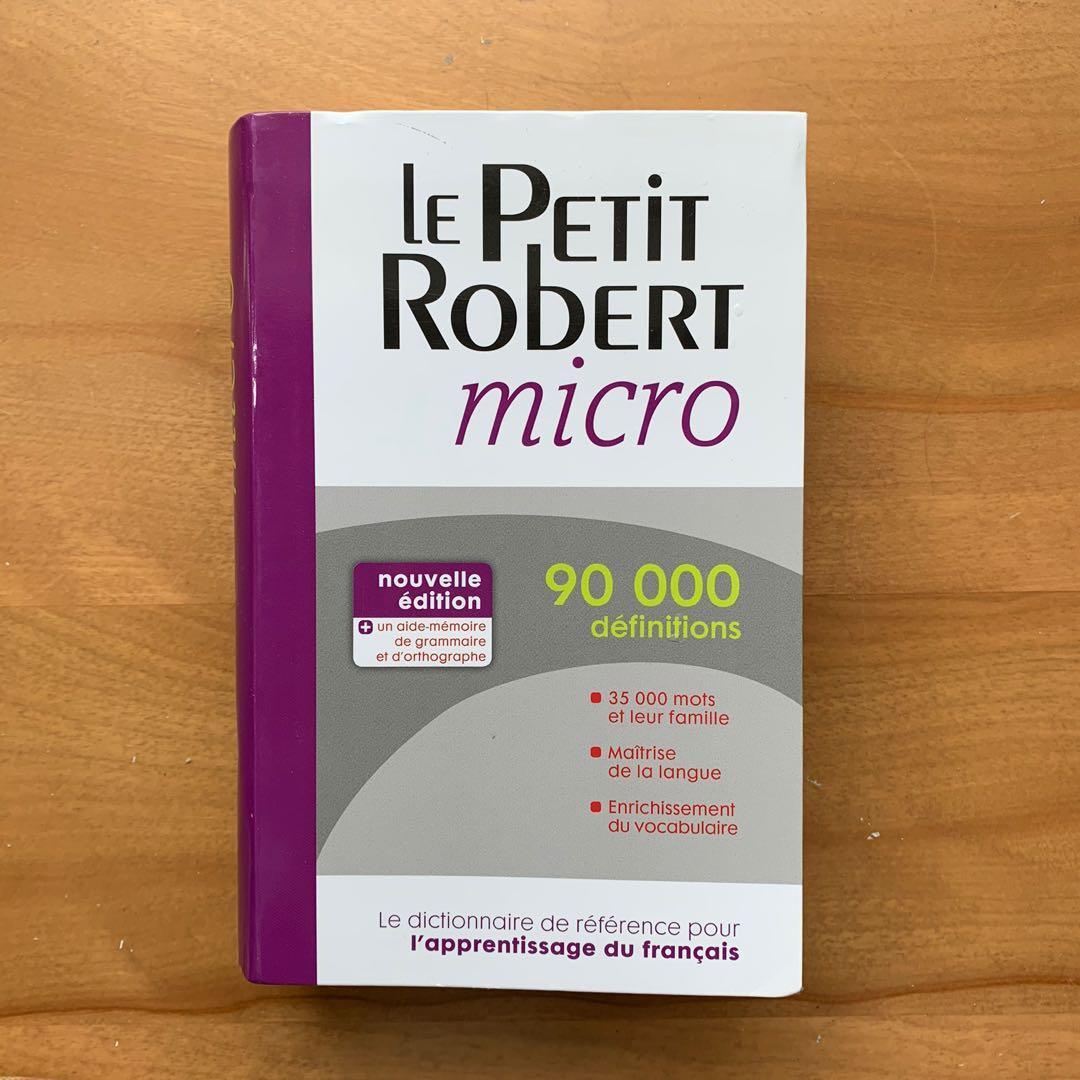 Le Petit Robert Dictionary