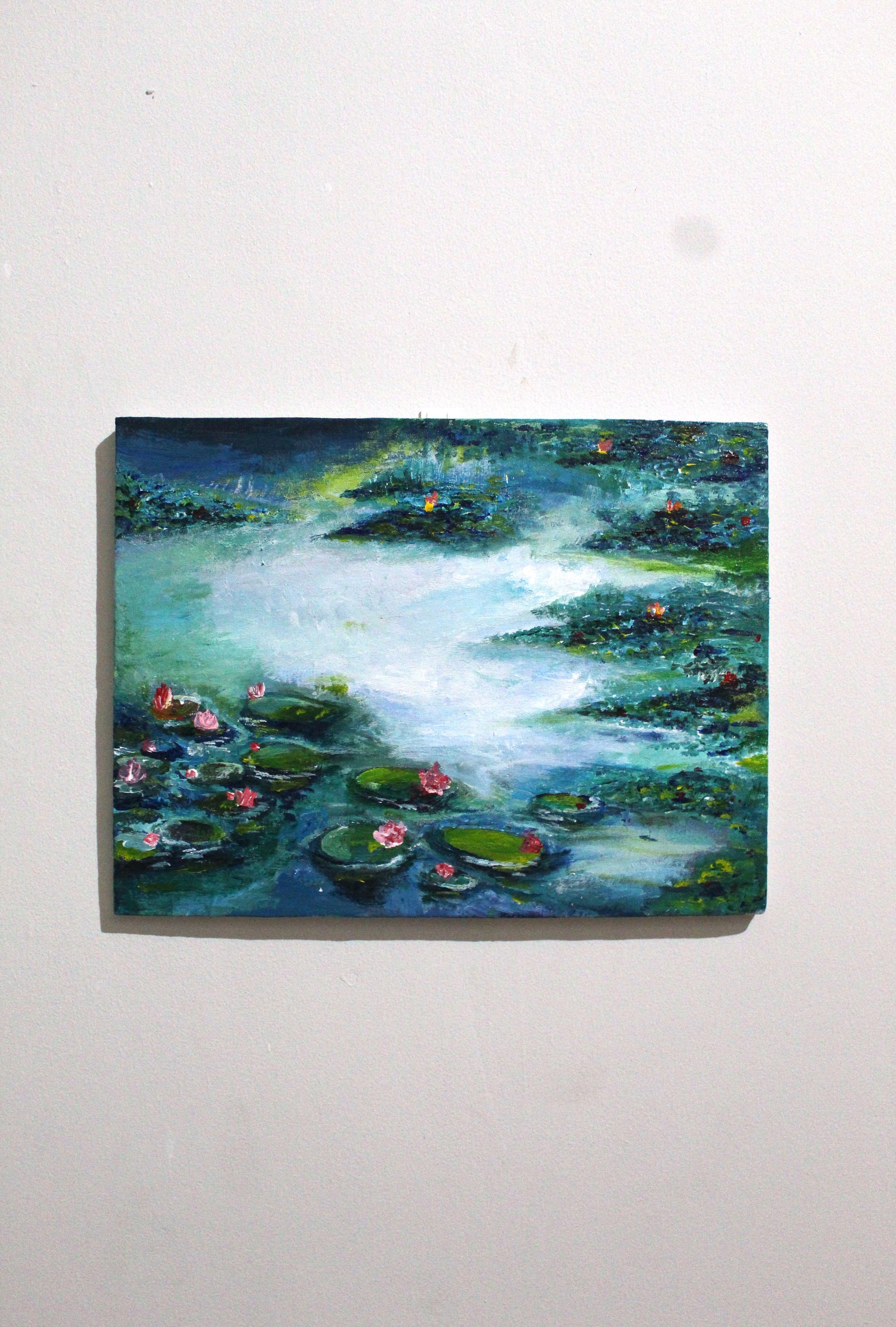 Lukisan Water Lilies (Monet)