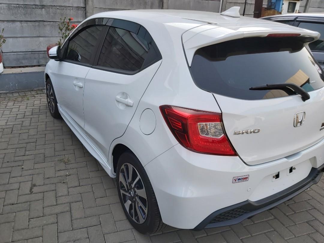 new honda  brio rs cvt free paket service 4 tahun hingga 50 rb km oli gratis, tinggal isi bensin saja!