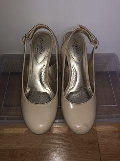 Nude Wedges    Size 5.5
