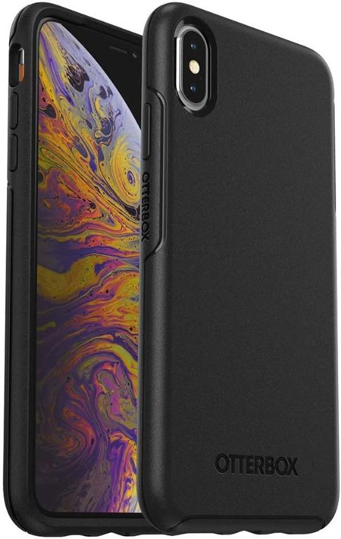OtterBox Symmetry Series Case for Apple iPhone XS Max (Black)