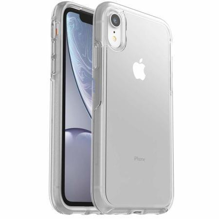 OtterBox Symmetry Series Hard Shell Case for Apple iPhone XR (Clear)
