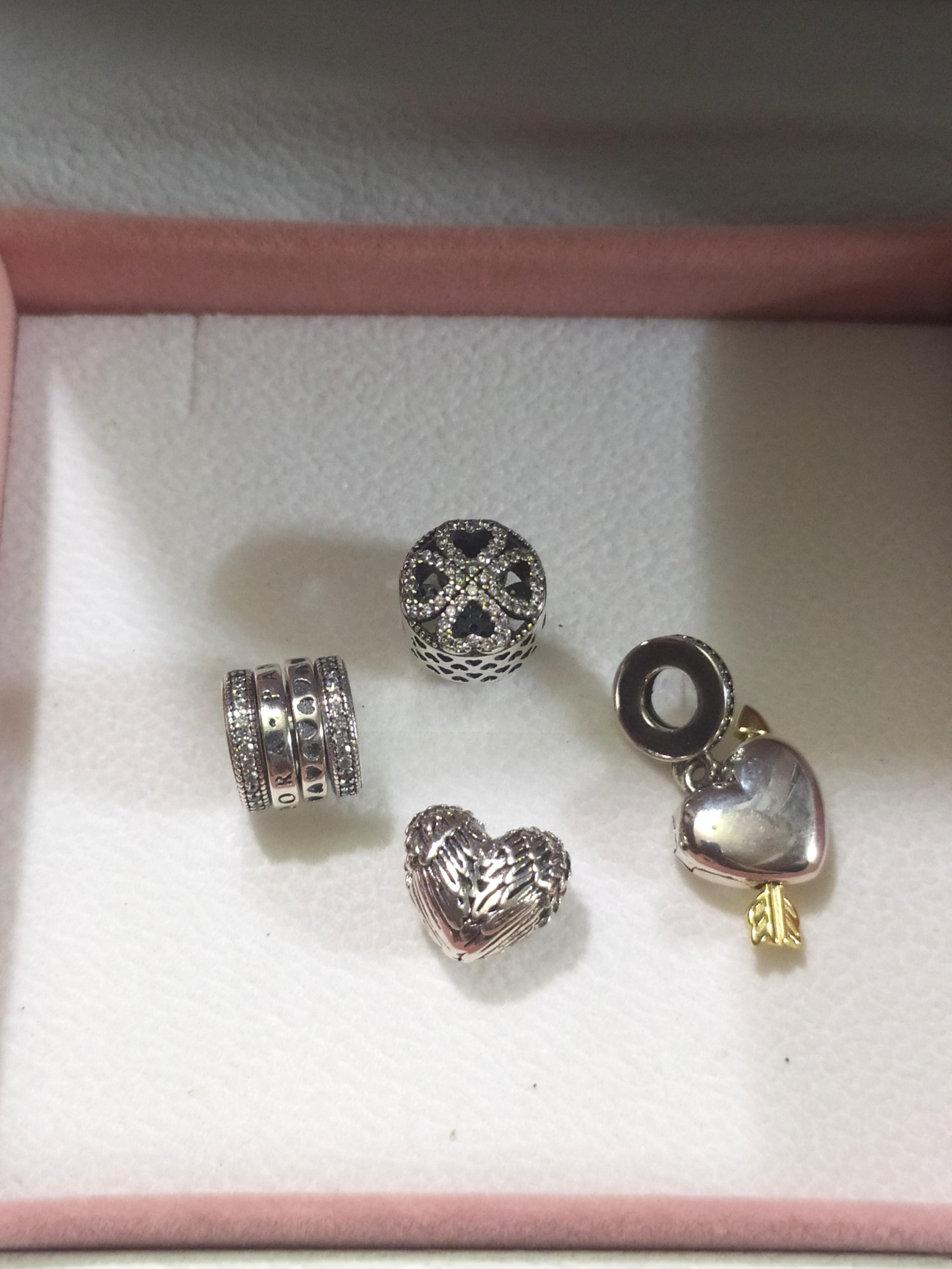 Pandora Charms Sale 1000 Each Women S Fashion Watches Accessories Other Accessories On Carousell