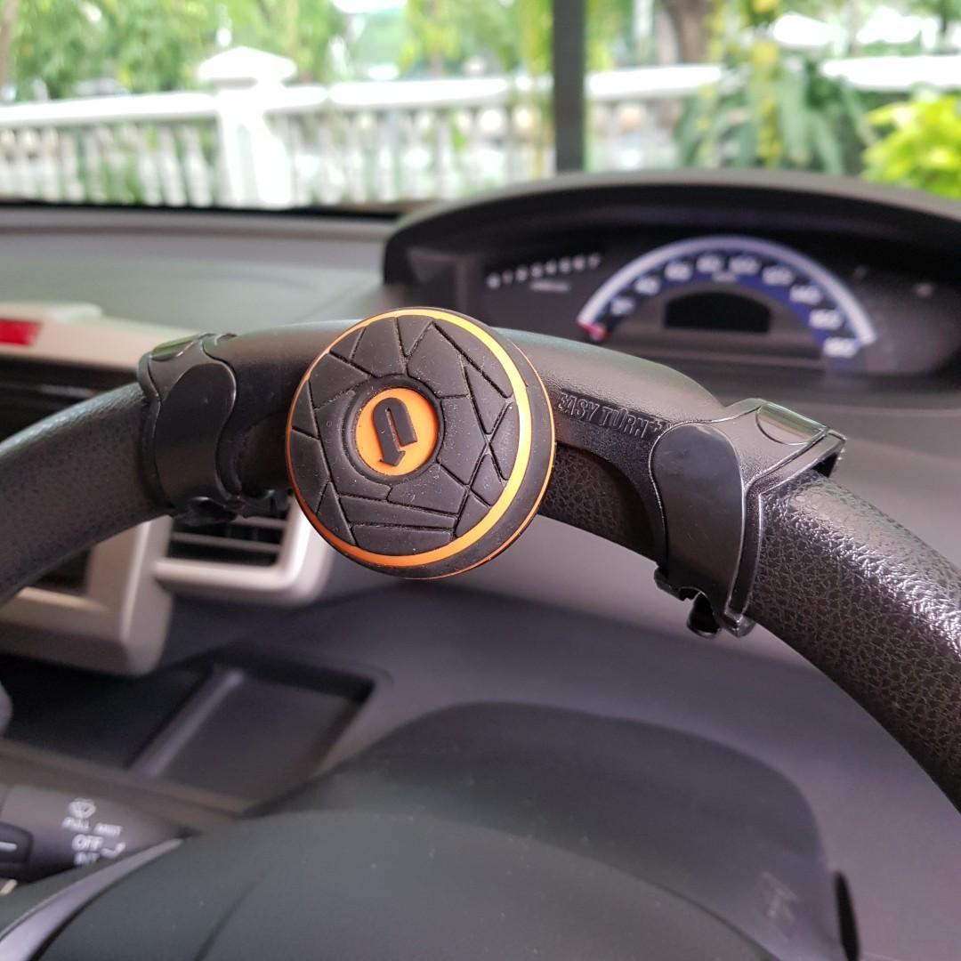 Power Handle Steering Knob - Alat Bantu Putar Setir Mobil