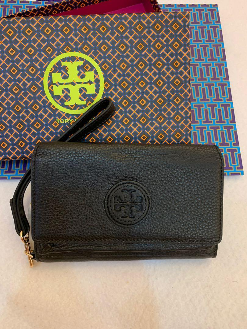 Ready Stock Authentic Tory Burch women phonemcgrsw miller  pouch wallet card holder