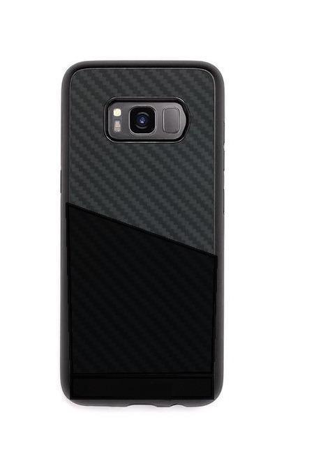 Samsung Galaxy S8 Wallet Card Holder Phone Case (Black)