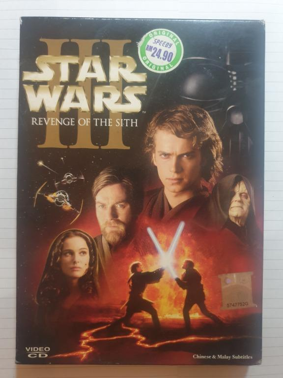 Movie Sale Star Wars Episode Iii Revenge Of The Sith Music Media Cd S Dvd S Other Media On Carousell
